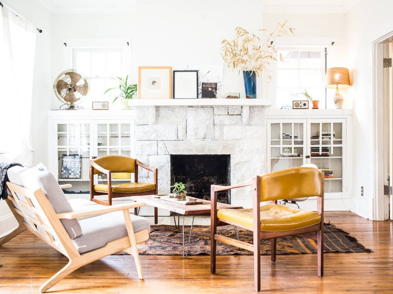 This bungalow is in the heart of East Nashville.