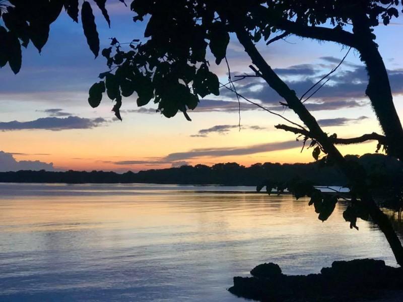 sunrise view from a Beach Villa at The Menjangan Resort, Bali