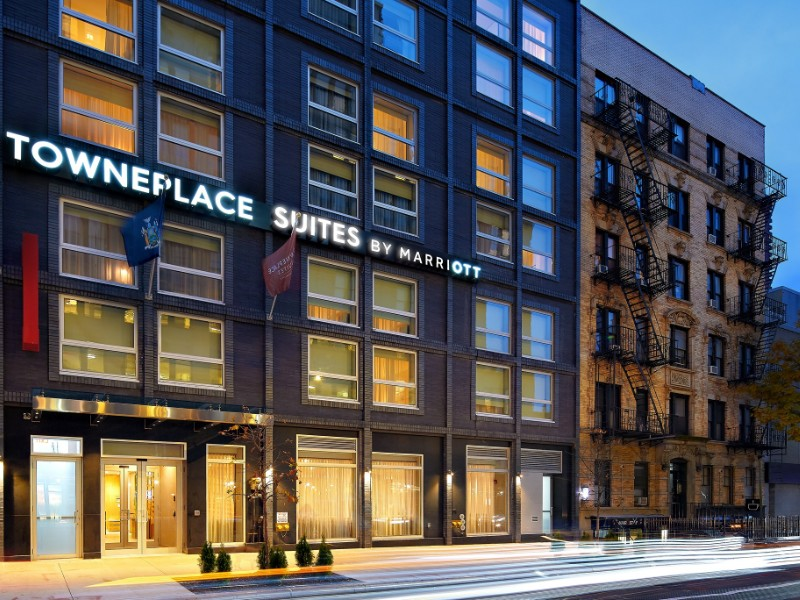 Exterior of TownePlace Suites by Marriott New York Manhattan