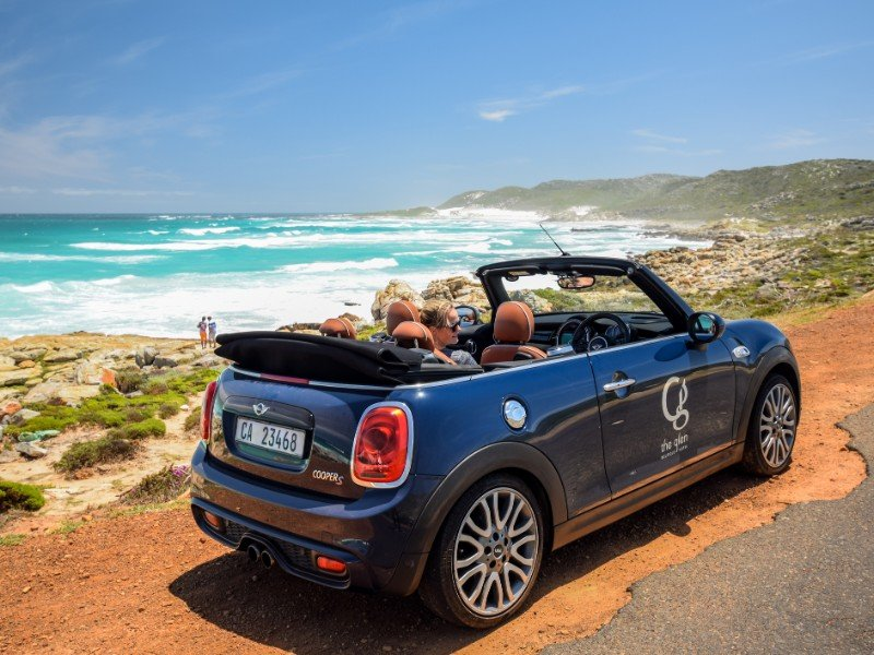 MINI Cooper S Convertible rental car in Cape Town, South Africa