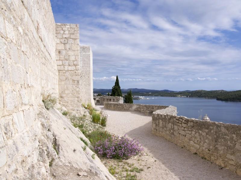 Sibenik walls, Croatia