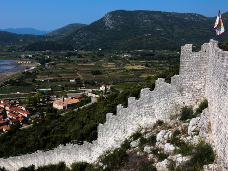 Ston defensive walls, Croatia