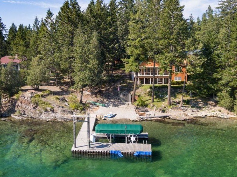 Grandma's Cabin in the Woods on Flathead Lake, Montana