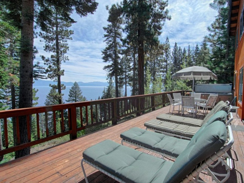 Great Tahoe Home with Panoramic Lake View