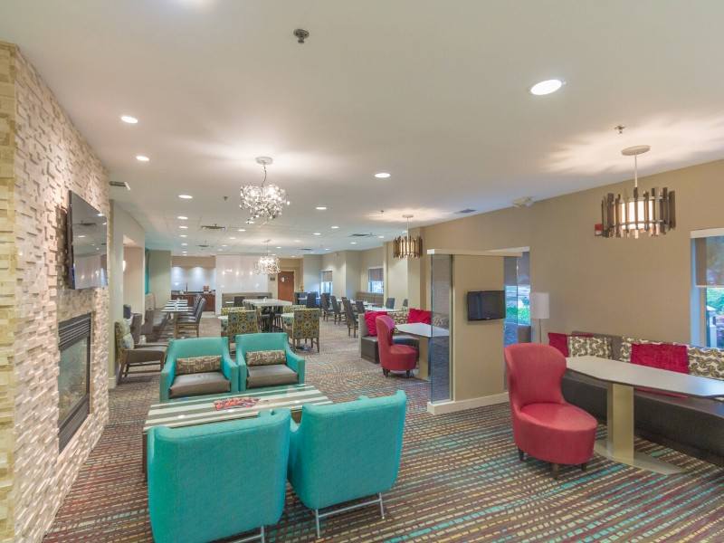 Lobby at Residence Inn by Marriott Fort Worth Alliance Airport