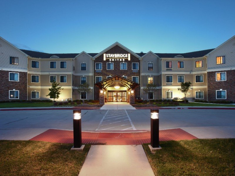 Front of Staybridge Suites Fort Worth West