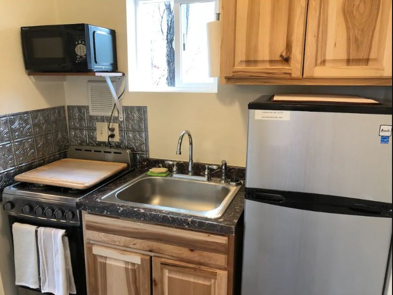 Kitchen in Downtown Tiny House