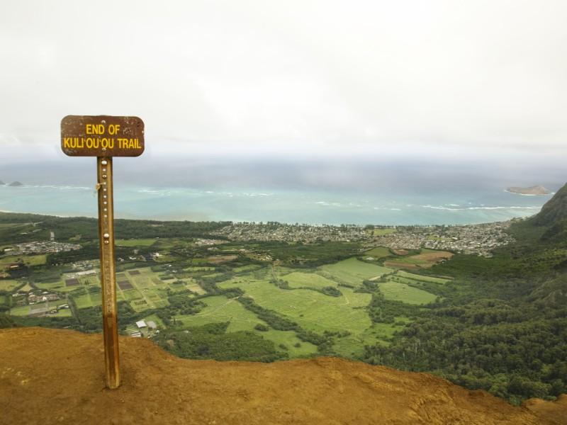 Top of Kuliouou Trail, Oahu, Hawaii
