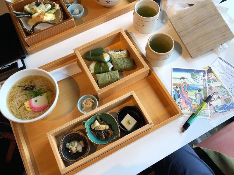 Fancy Japanese cuisine