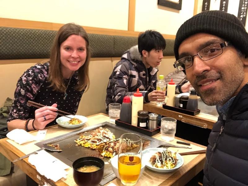 Discovering okonomiyaki