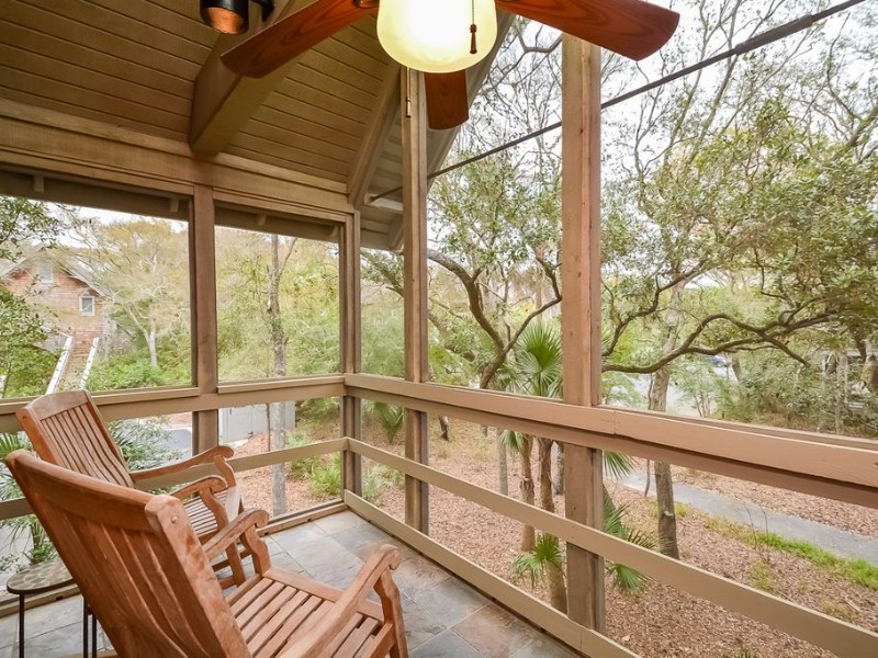 Porch at 3539 Seascape Villa