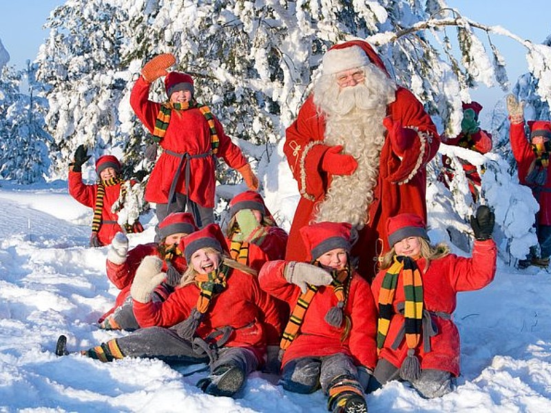Family Day: Snowmobile, Arctic Animals And Santa`s Village