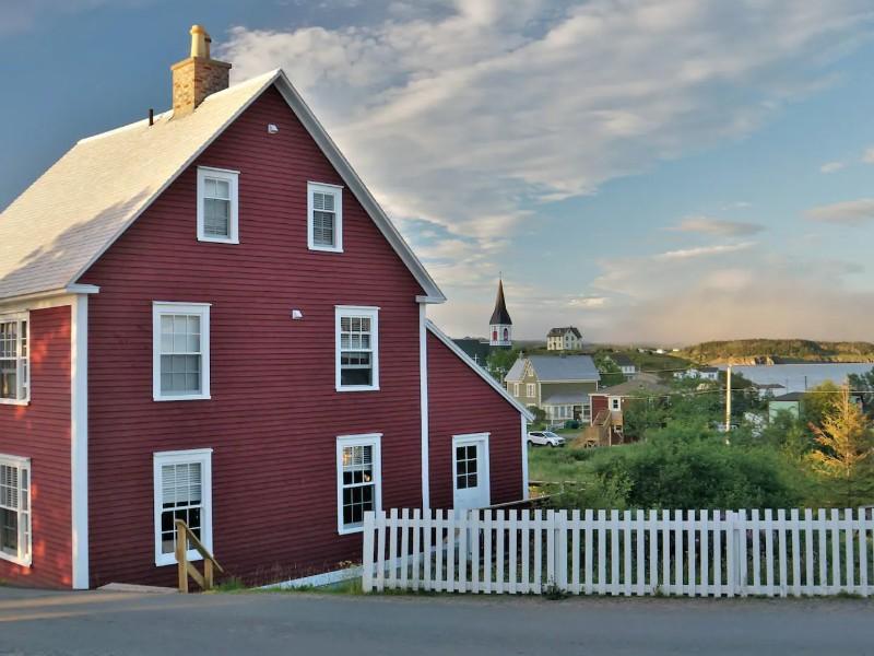 Artisan Inn's Nathaniel's House, Trinity, Newfoundland