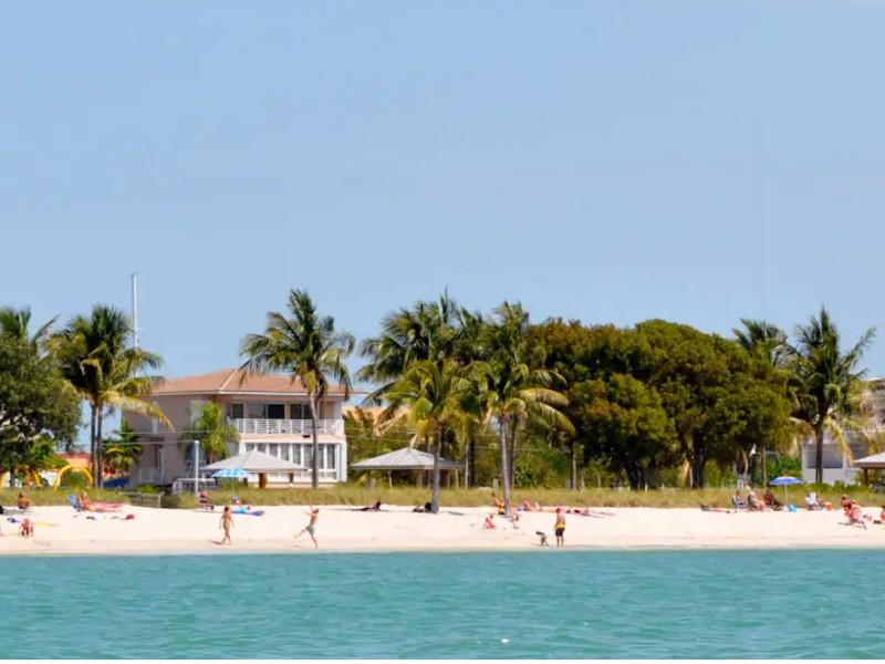 Beachfront Villa, Sombrero Beach, Marathon, Florida