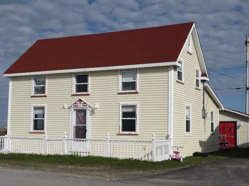 The Coles House, Flower's Cove, Newfoundland
