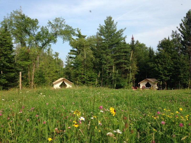 Glamping Tents, Glamp Richard, North River, New York