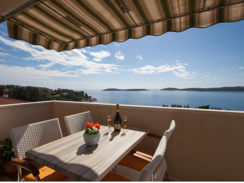 Million Dollar View Apartment, Hvar