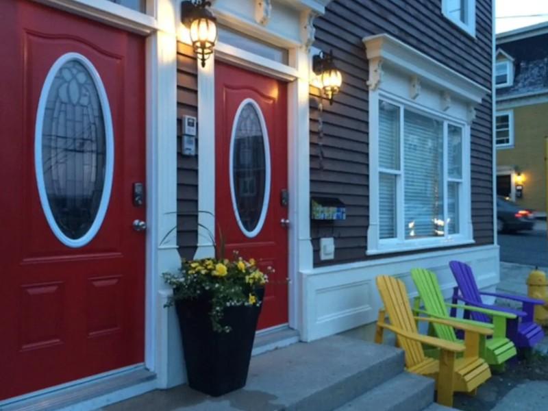 Jelly Bean Row Airbnb, St. John's, Newfoundland