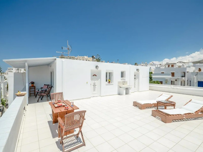 Marietta's House, Port of Naxos