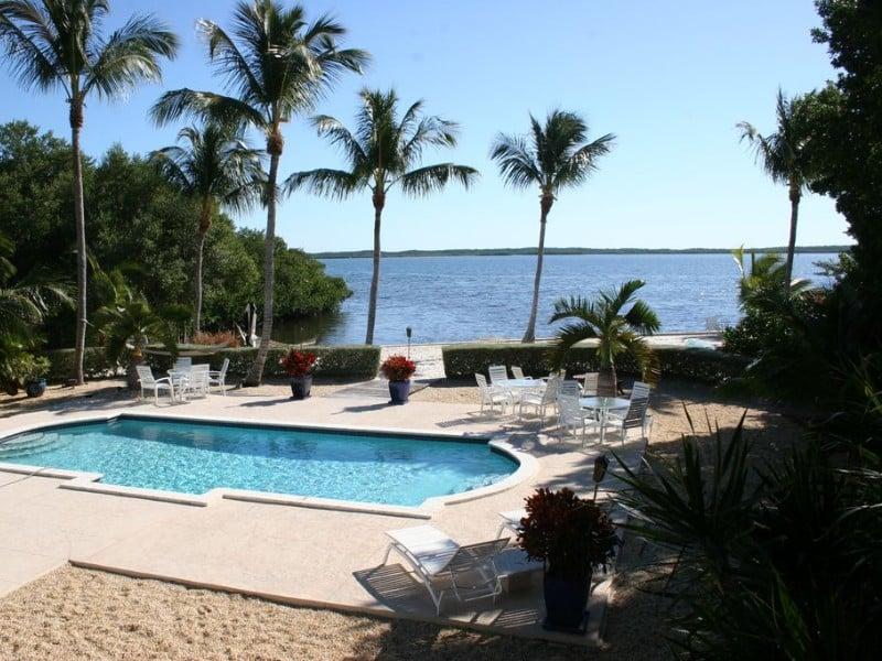Oceanfront home, Anglers Park, Key Largo, Florida