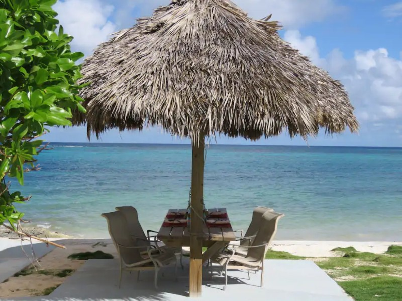 Oceanfront house in Andros, Bahamas