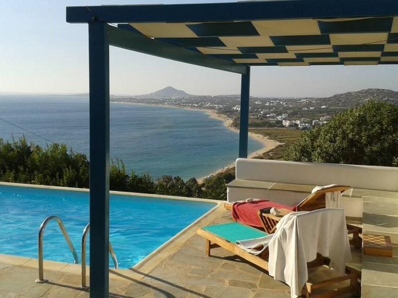 Pool at Naxos Seaside Villa