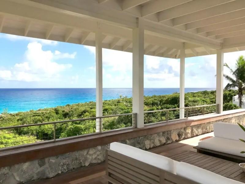 Lanai at Rock Hill House, Long Island, Bahamas