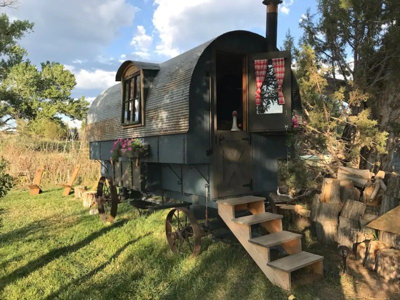 Stump Henge Bed & Breakfast in a Wagon, Dolores, Colorado