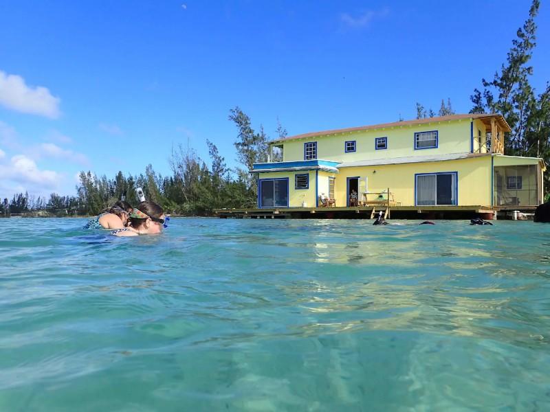 Sunset Point Houseboat, Andros, Bahamas