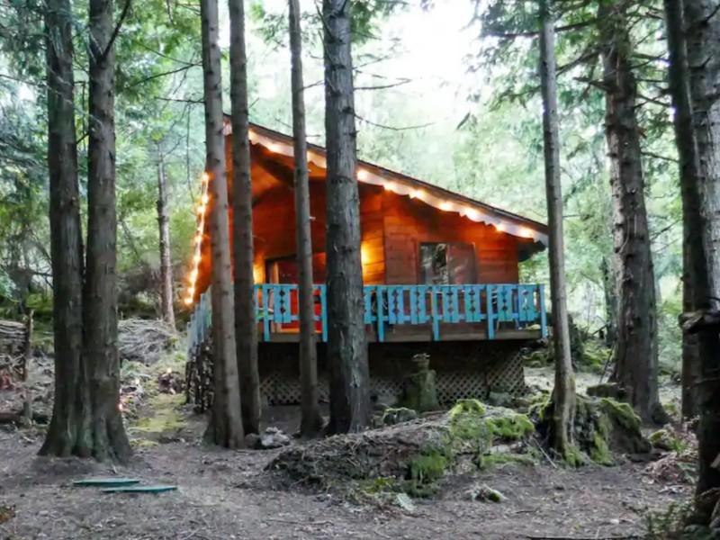 The Cedar House, Lopez Island, Washington