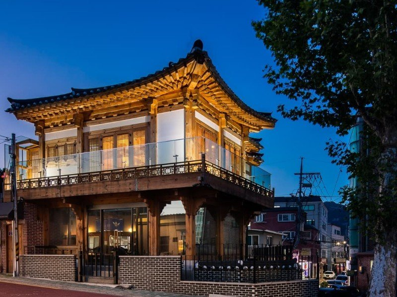 Traditional Korean Airbnb With Modern Interior