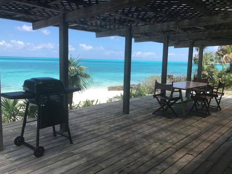 Tropical Paradise at Shannas Bay, Cat Island, Bahamas
