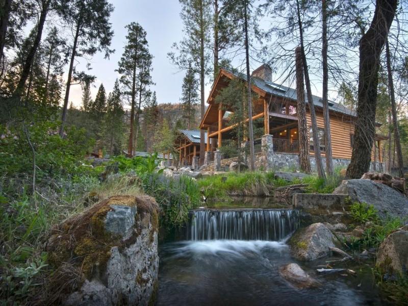 Yosemite Valley Cabin, California