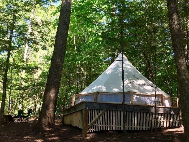 Maine Island Luxury Tent