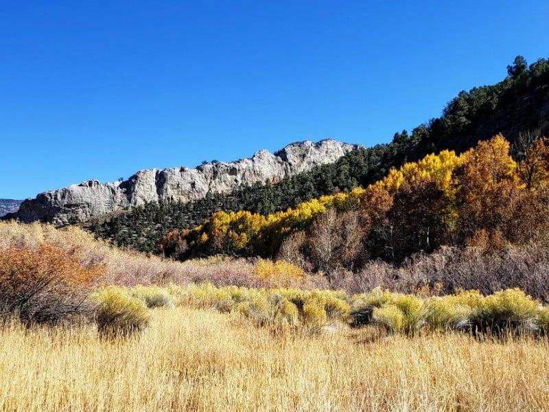 View at Cave Lake State Park