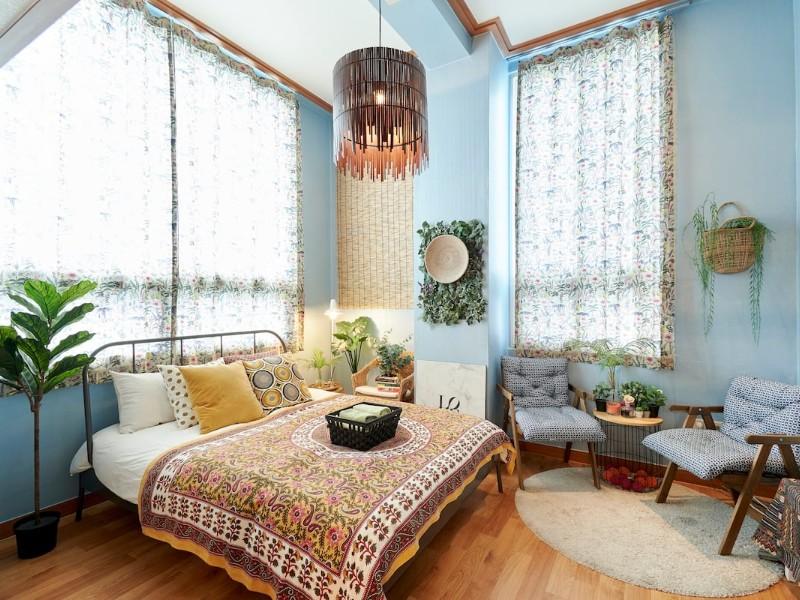 Exotic boho Airbnb in Hongdae