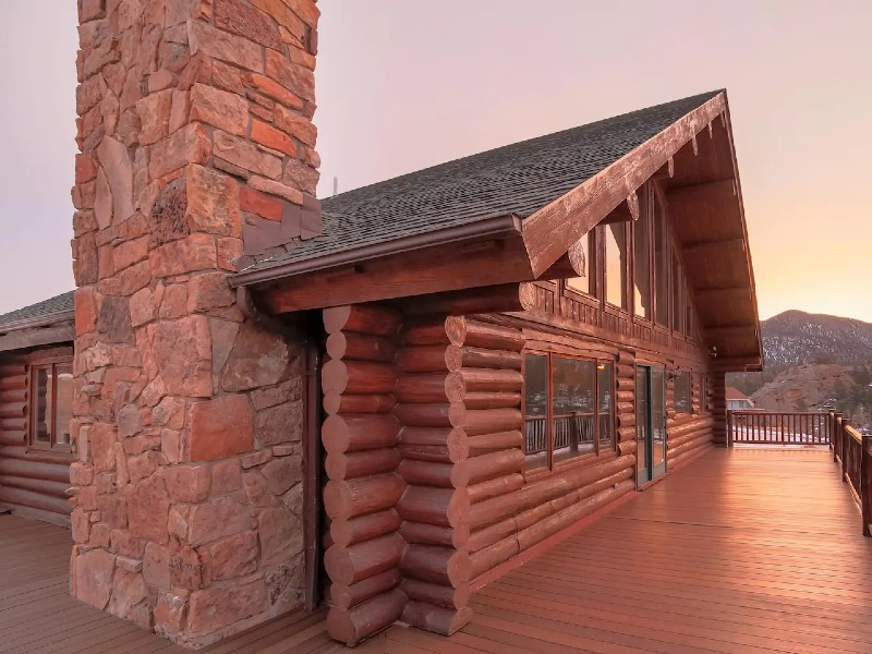 Beautiful Log Home-Spectacular View