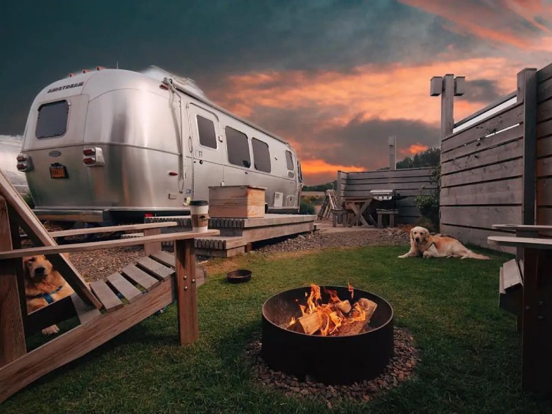Vintage Glamping at Arrowhead at the Beach