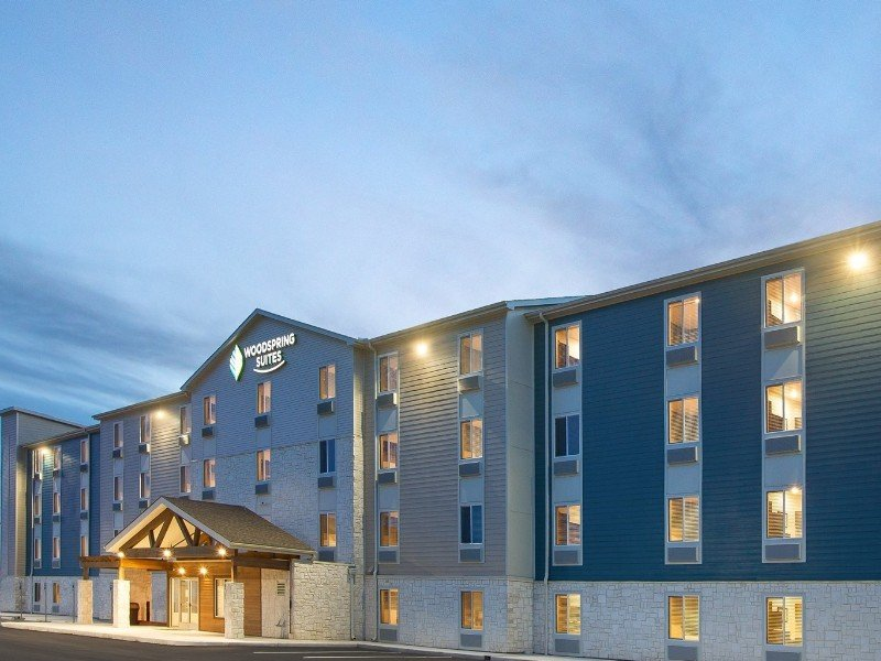 Exterior of WoodSpring Suites Hotel