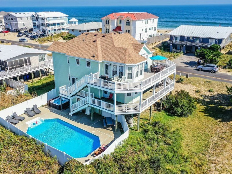 7 Bedroom Beach House, Virginia Beach, Virginia
