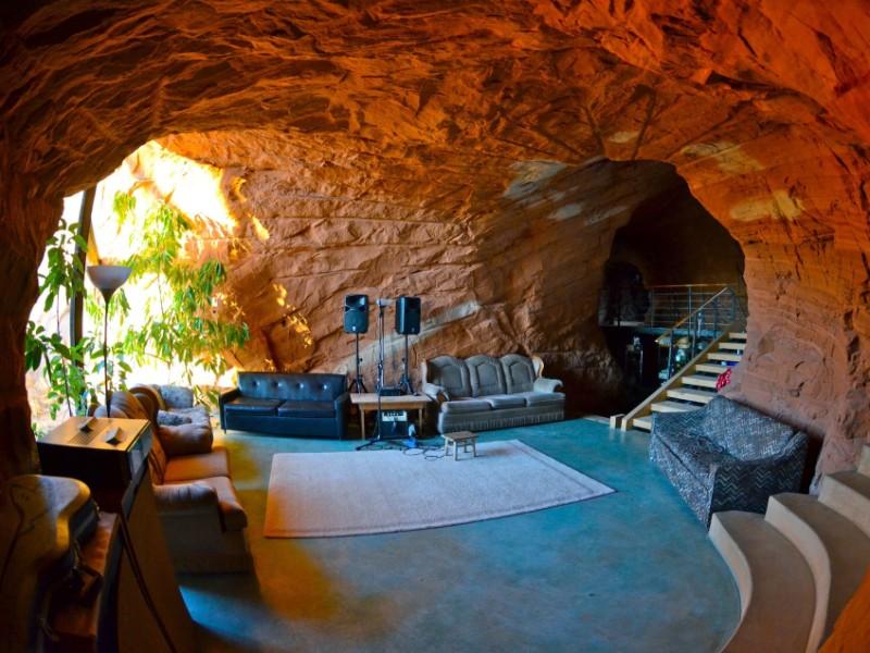 Bedrock Homestead inside Escalante Nat. Monument, Boulder, Utah