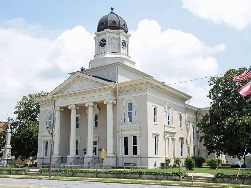 Pulaski County Courthouse, Hawkinsville, Georgia