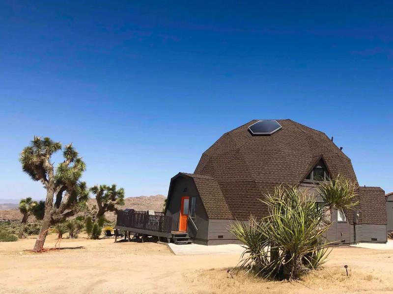 Joshua Tree Geodesic Dome House - Joshua Tree, California