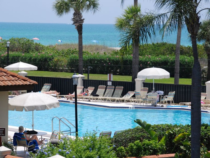 Pool at Land's End Gulf-front Luxury