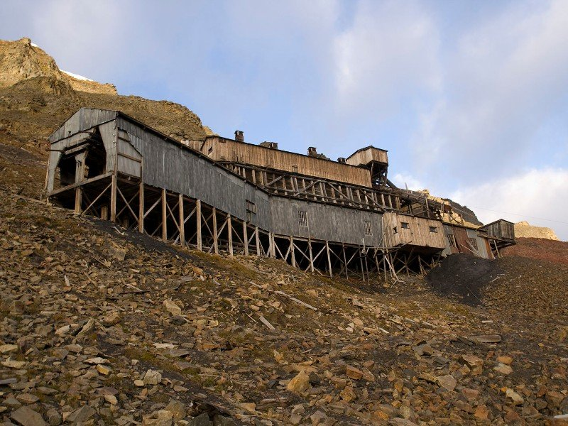 Longyearbyen Coal Mine, Norway