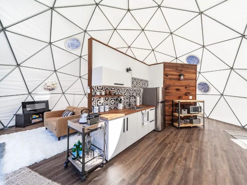 Luxury Glamping Dome - Hendersonville, North Carolina