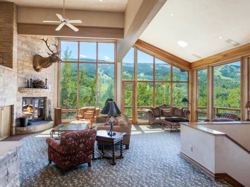Luxury Snowmass Ski Out Home with Panoramic Views
