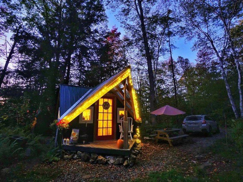 Magical Cozy Vermont Cabin & Sauna