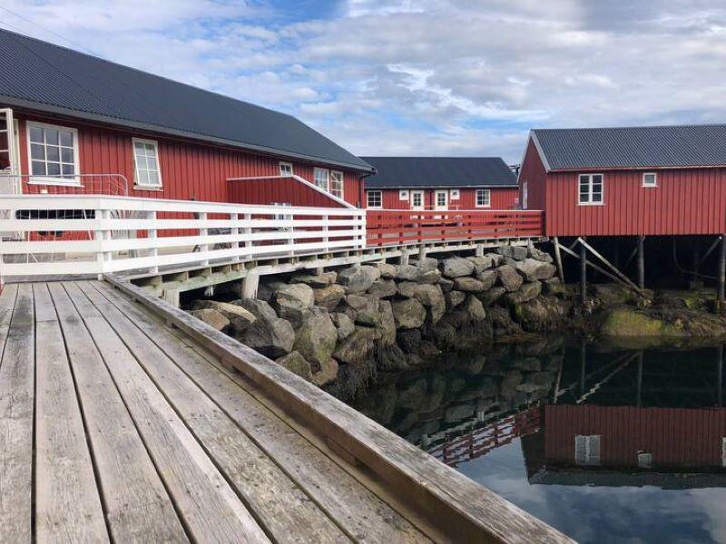 Masibua Waterfront Cabin, Stamsund, Lofoten, Norway