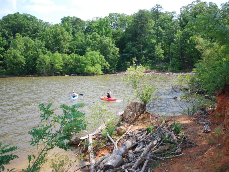 Water fun at Occoneechee State Park